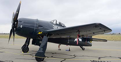 Grumman F8F-1 Bearcat NL9G, May 14, 2011